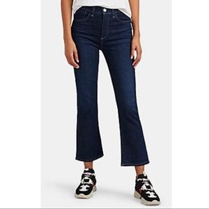L'agence Boot Cup Cropped Jeans Size 27 DR